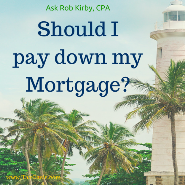 Ask Rob Kirby, CPA Santa Rosa tax and investment advice